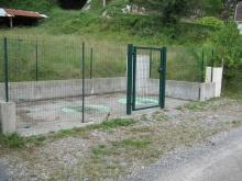Poste de relevage sur la commune de Salles Mongiscard